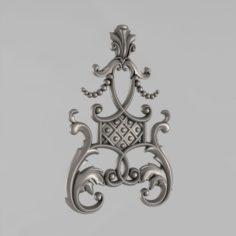 The Central decorative element 19 3D Model