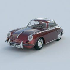 Porsche 356 c 3D Model