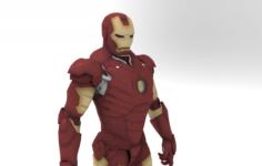 IRON MAN V3 3D Model