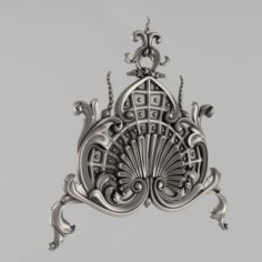 The Central decorative element 18 3D Model