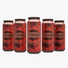 Tuborg Beer Can 3D Model