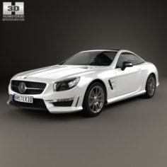 Mercedes-Benz SL-Class R321 AMG 2013 3D Model