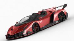 Lamborghini Veneno Roadster 3D Model