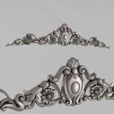 The Central decorative element 16 3D Model
