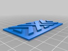 New York Excelsior Logo 3D Print Model