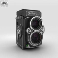 Rolleiflex 28 FX 3D Model