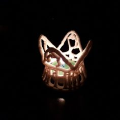 tealight 3D Print Model