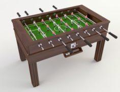 Foosball 3D Model
