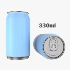 Beverage can 330ml 3D Model