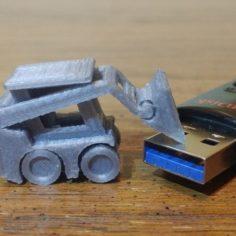 Skid steer 3D Print Model