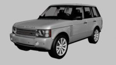 2008 Land Rover Range Rover Supercharged 3D Model
