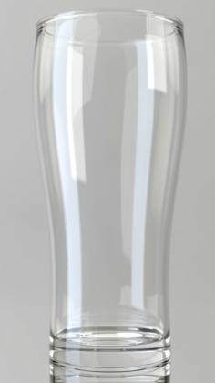 Irish Beer Glass 3D Model