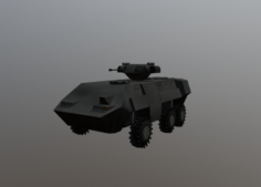 Light Armored Transport 3D Model