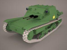 Ansaldo L3 33 3D Model