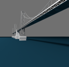 Bay Bridge Model 3D Model