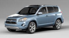 Toyota Rav 4 3D Model