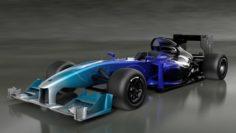 Lotus Exos Type 125 Bolide Formula-1 3D Model