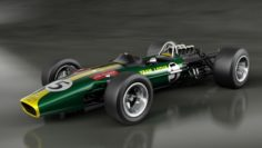 Lotus Type 49 3D Model