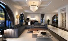 VCTT Livingroom 3D Model