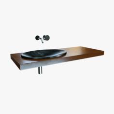 Sink Set 3D Model