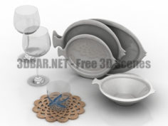 Dinnerware Zara Home 3D Collection