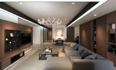 CH Livingroom 3D Model