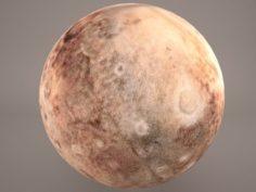 Pluton 3D Model