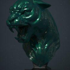 Panther  3D Print Model