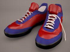 Gym shoes 3D Model