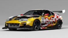 Toyota Supra 3D Model