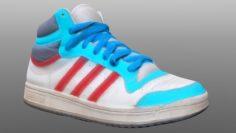 Sneaker low poly model 3D Model