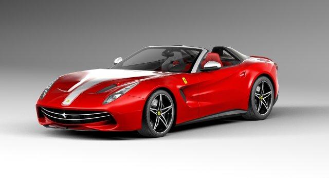 Ferrari F60 America 2015 3d Model 3dhunt
