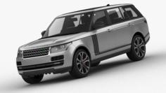 Range Rover SVAutobiography Dynamic 3D Model
