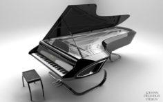 Piano Design 3D Model
