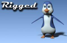 Cartoon penguin 3D Model