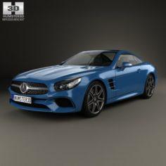 Mercedes-Benz SL-Class R231 2015 3D Model
