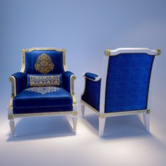 Classic Arm chair 3D Model