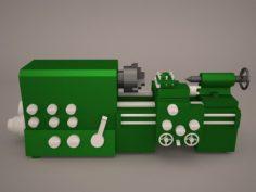 Desktop Lathe BM 180V 3D Model