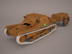 Ansaldo L3 35 FT 3D Model