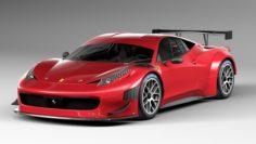 Ferrari 458 GT3 2014 3D Model