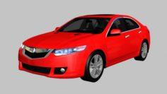 2010 Acura TSX V6 3D Model