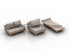 Onega furniture 3D Collection