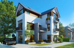 CN house 3D Model