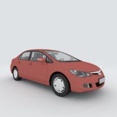 Vehicles – Mercedes-Benz BMW Volkswagen Audi car 201 3D Model