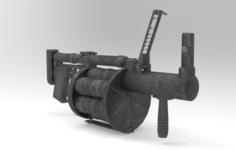 RG-6 Grenade 3D Model