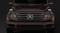 Mercedes-Benz G 500 W464 2018 3D Model