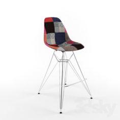 Eames bar chair E23                                      Free 3D Model