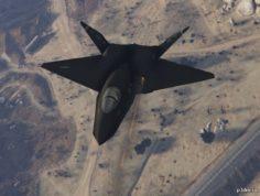 YF-23 BlackWidow II 3D Model