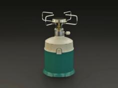 Gas burner 3D Model