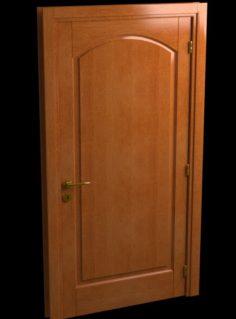 Wooden Door HQ 3D Model
